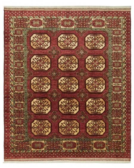Ersari Carpet Red Elephant Design 250 x 212 24093