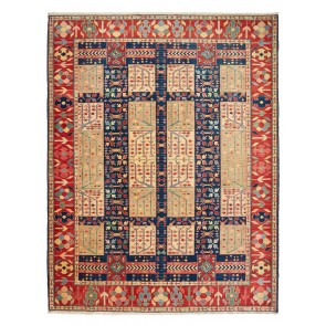 Yenikoy carpet blue/red 18983
