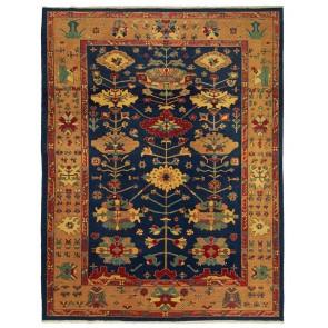 Yenikoy Carpet Blue Pinkish Yellow 19700