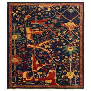 Yenikoy Carpet Blue Abstract 19702