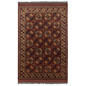 Ersari Carpet Red Elephant Design 300 x 205 23668