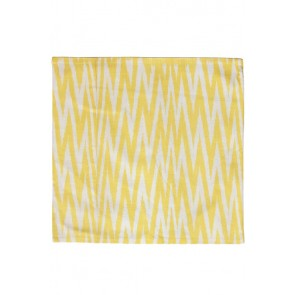 Silk Ikat Pillow 50 x 50 GEW ZigZag 2