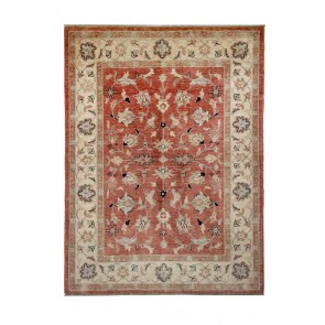 Samarkand Carpet 236 x 177 Cream Red 23895
