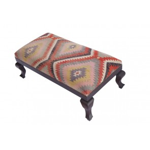 Kilim Stool Roma 40 cm high
