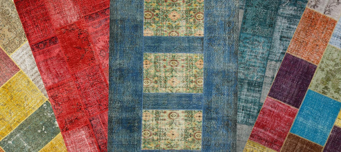 Beautiful handmade Patchwork carpets