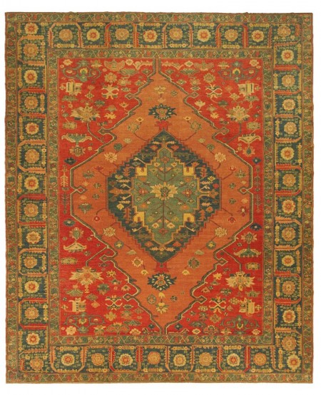 Zara Carpet Red Blue 3,62 x 2,97 16020