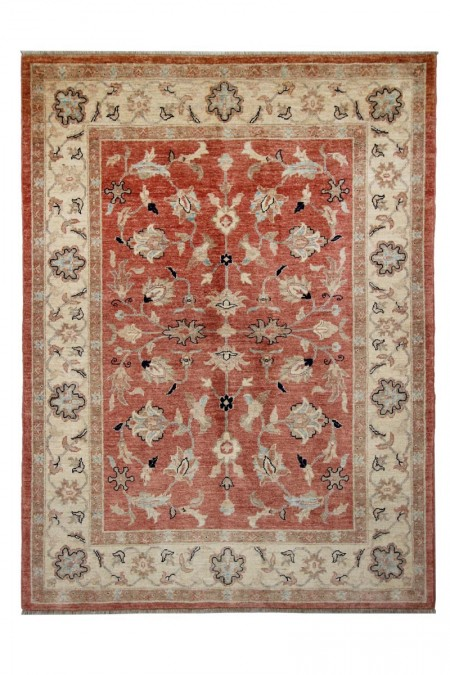 Samarkand Carpet 236 x 177 Cream Red 23895