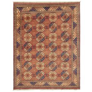 Ersari Carpet Red Beige Elephant Design 321 x 254 24090