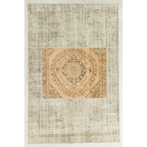Patchwork Carpet Grey Medallion 29882