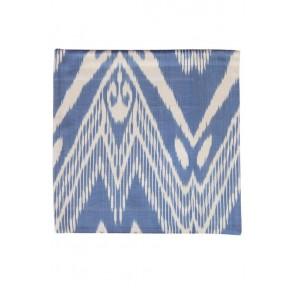 Silk Ikat Pillow 50 x 50 BW MV 1