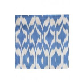 Silk Ikat Pillow 50 x 50 BW Oog 1