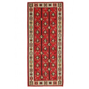 Sarkoy Kilim Runner Red 06306