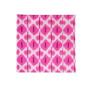 Silk Ikat Pillow 50 x 50 RW Oog 1