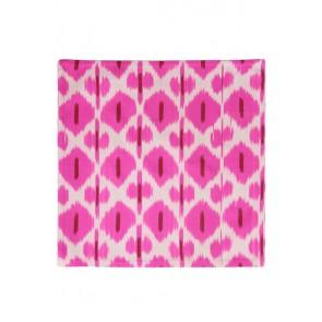 Silk Ikat Pillow 50 x 50 RW Oog 2