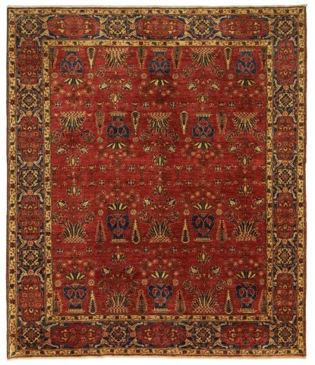 Aryana Carpet Red 289 x 249 - 22504