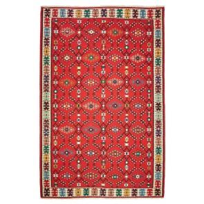 Sarkoy Kilim Red Symmetrical 16625