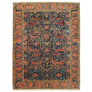 Yenikoy Carpet Blue 19036