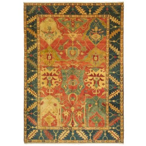 Yenikoy Carpet Blue Yellow Old Style 22440