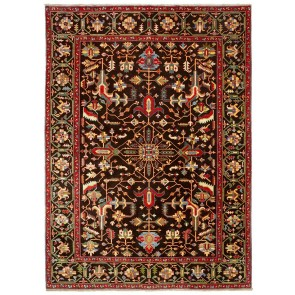 Yenikoy Carpet Black 22445