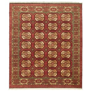 Ersari Carpet Red Elephant Design 294 x 254 24094