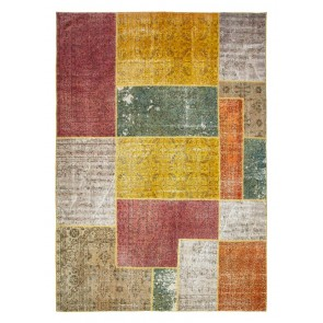 Patchwork Pastel Multiple Colors 350 x 250 29258