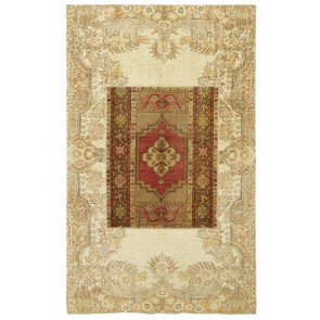 Patchwork Carpet Beige 29871