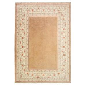 Samarkand Carpet Cream Brown 29907
