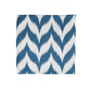 Silk Ikat Pillow 50 x 50 BLW Pyramide 11