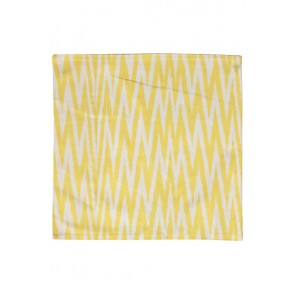Silk Ikat Pillow 50 x 50 GEW ZigZag 1