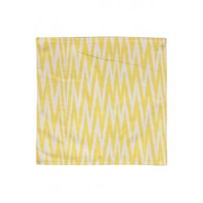 Silk Ikat Pillow 50 x 50 GEW ZigZag 1