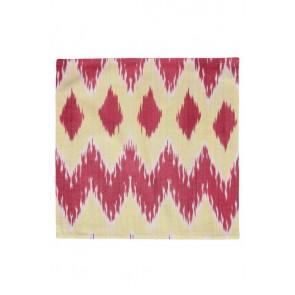 Silk Ikat Pillow 50 x 50 GR Pyramide 1