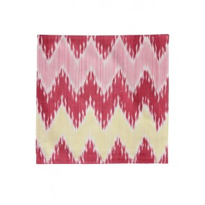 Silk Ikat Pillow 50 x 50 GR Pyramide 2