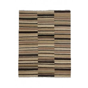 Choby Kilim Black Brown 201 x 158 25013