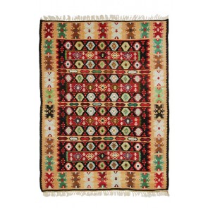 Old Sarkoy Kilim Black 16436