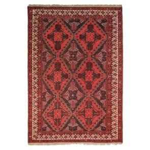 Khorassan Soumak Kilim Red 248 x 165