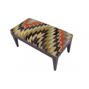 Kilim Stool Zen 50 cm high
