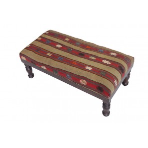 Kilim Stool Idil 40 cm high BNK40DL04