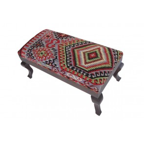 Kilim Stool Roma 50 cm high