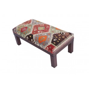 Kilim Stool Acropolis 40 cm high