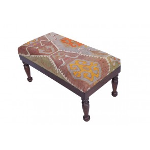 Kilim Stool Idil 50 cm high