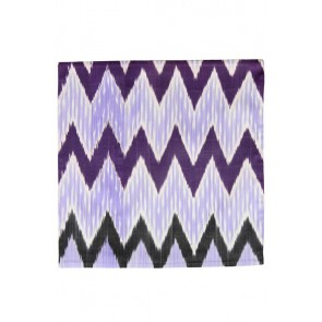Silk Ikat Pillow 50 x 50 PZ Pyramide 1