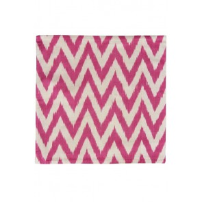 Silk Ikat Pillow 50 x 50 RDW Pyramide 4