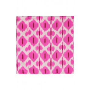 Silk Ikat Pillow 50 x 50 RW Oog 3